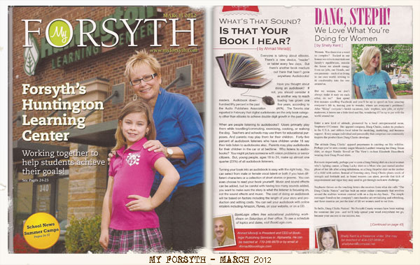My Forsyth Magazine Article-Dang Steph!