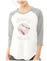 Dang Baseball Chick raglan tee by Dang Chicks