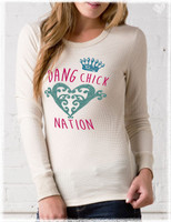 Dang Chick Nation Thermal Tee
