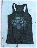 Dang Country black tank top by Dang Chicks