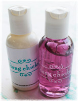2-pack hand sanitizer and sun block by Dang Chicks. Perfect for festivals!