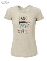 Dang Coffee short sleeve slub by Dang Chicks
