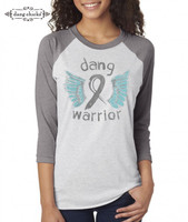 DANG WARRIOR RAGLAN BY DANG CHICKS