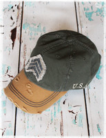 The Dang Sarge baseball hat by Dang Chicks