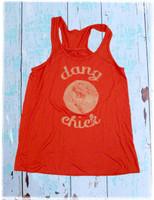 Dang Baseball Chick tank top by Dang Chicks