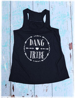 Dang Tribe navy tank top by Dang Chicks