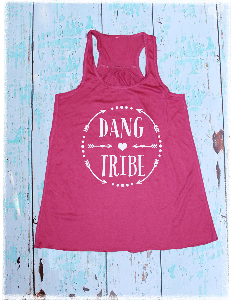 Dang Tribe berry tank top by Dang Chicks