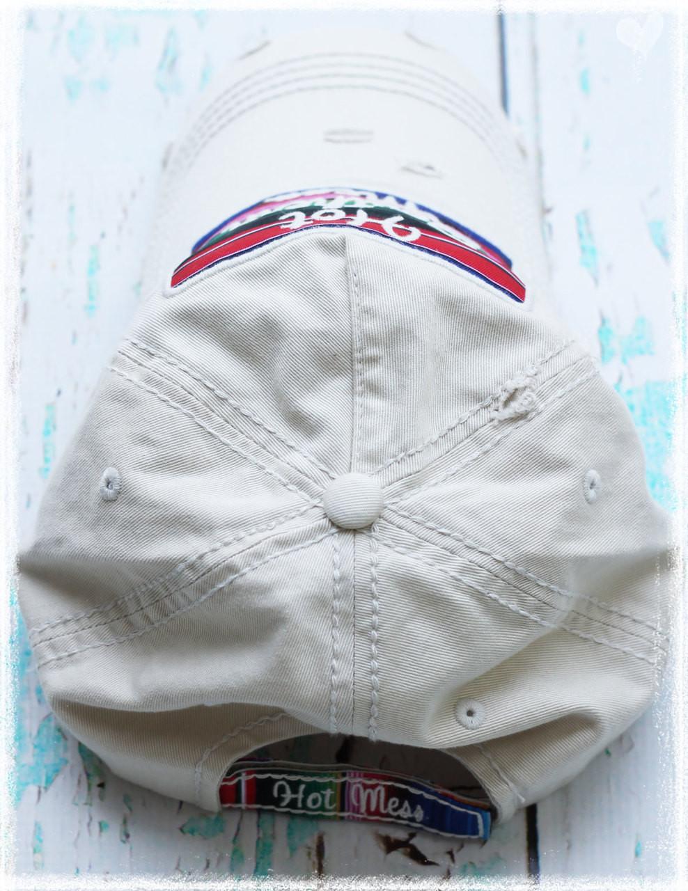 Hot Southern Mess baseball hat by Dang Chicks