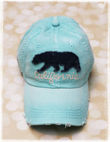 California Baseball Hat by Dang Chicks