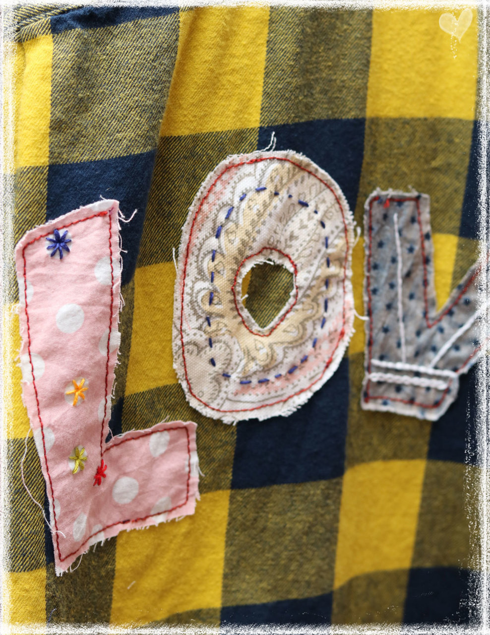 Repurposed Flannel by Dang Chicks Artisans