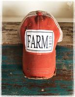 Farmgirl Baseball Hat by Dang Chicks.
