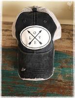 Love Arrows Baseball Hat BY DANG CHICKS