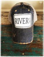 River Girl Baseball Hat by Dang Chicks