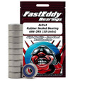 4x9x4 Rubber Sealed Bearing 684-2RS (10 Units)