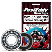 Picco .67 Blue Head Sealed Bearing Kit