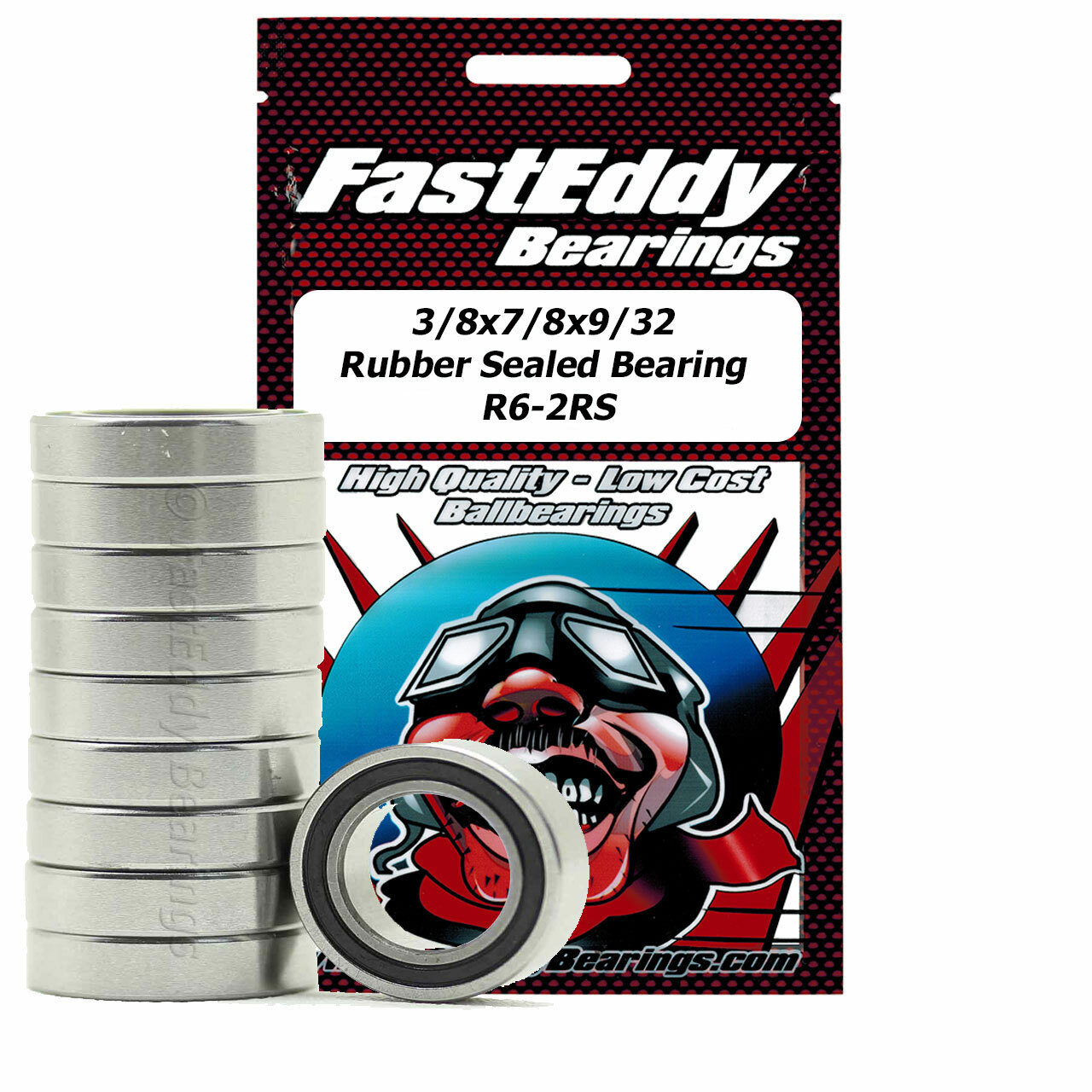 3 8x5 8x5 32 Rubber Sealed Bearing R1038 2rs 100