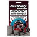 Abu Garcia 4600CI Baitcaster Fishing Reel Rubber Sealed Bearing Kit