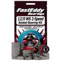 Duel Reel 12/0 WS 2-Speed Fishing Reel Rubber Sealed Bearing Kit