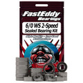 Duel Reel 6/0 2-Speed Fishing Reel Rubber Sealed Bearing Kit