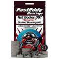 Hot Bodies D8T Ceramic Rubber Sealed Bearing Kit