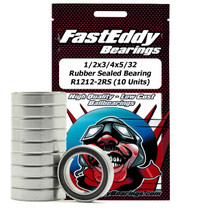 1/2x3/4x5/32 Rubber Sealed Bearing R1212-2RS (10 Units)