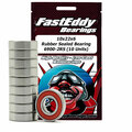 10x22x6 Rubber Sealed Bearing 6900-2RS (10 Units)