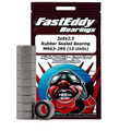 3x6x2.5 Rubber Sealed Bearing MR63-2RS (10 Units)