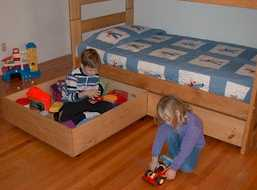 picture of free bunk bed plans