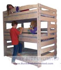Triple Bunk Bed Plans 9