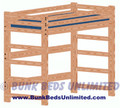 Loft Bed Plan Extra Long Twin Mattress