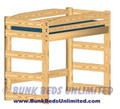 Loft Bed Plan Twin Standard Height