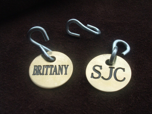 Engraved Bridle Tag - Halter Tags