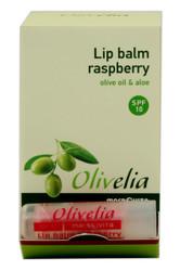 Olivelia Raspberry Lip Balm SPF 10
