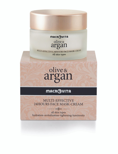 Olive and Argan Multi-Effective 24 Hour Face Mask Cream