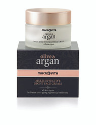 Olive & Argan Multi-Effective Night Face Cream for All Skin Types