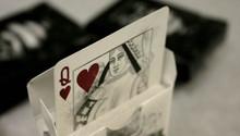 White Arcane playing cards
