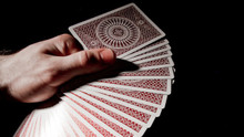 Red Tally-Ho Titanium Edition Playing Cards
