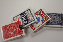 Variety PACK 4 Decks (BLUE TALLY HO, RED TALLY HO, BLUE BEE, RED BICYCLE)