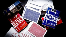 Aviator Playing Cards. Available in Blue and Red. Sizes: Poker and Jumbo