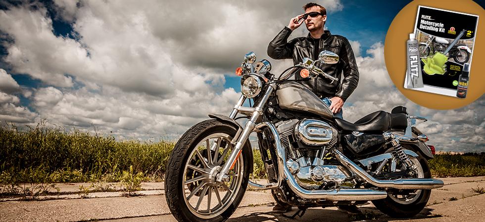 motorcycle polish detailing kit