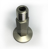 "NW 16 to 1/4"" Male NPT Stainless Steel Adapter"