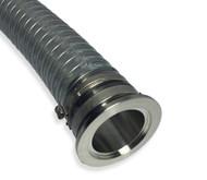 """Clear PVC Vacuum Hose 1-1/2"""" ID x NW40 x 4 FT"""