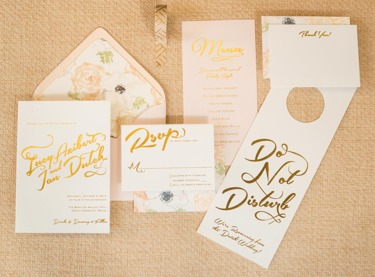 Rose Wedding Invitations with great invitation design