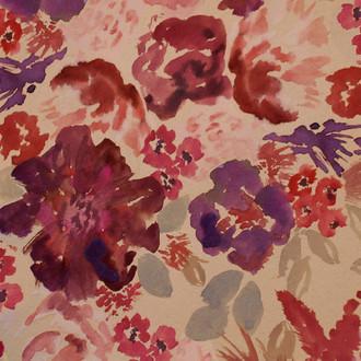 """Diana"" Floral Patterned Paper, 10 pack"