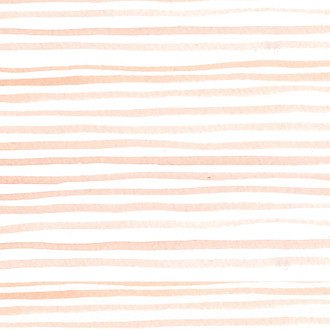 """Watercolor Stripe"" Coral Patterned Paper, 10 pack"