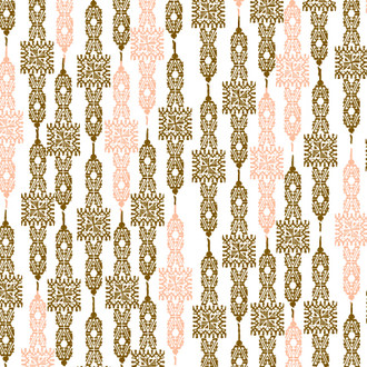 """Old West"" Patterned Paper, Coral, 10 pack"