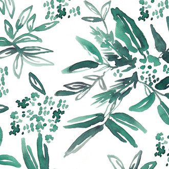 """""""Coco"""" Floral Patterned Paper, 10 pack"""