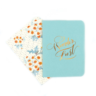 A2 Notebook Set, Pool and Chamomile Floral