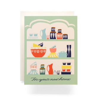 Vintage Dansk Housewarming Greeting Card