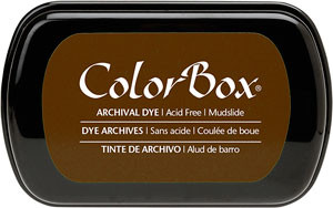 Color Box Stamp Pad, Archival, Mudslide